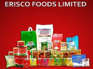 Erisco Foods Limited Recruitment
